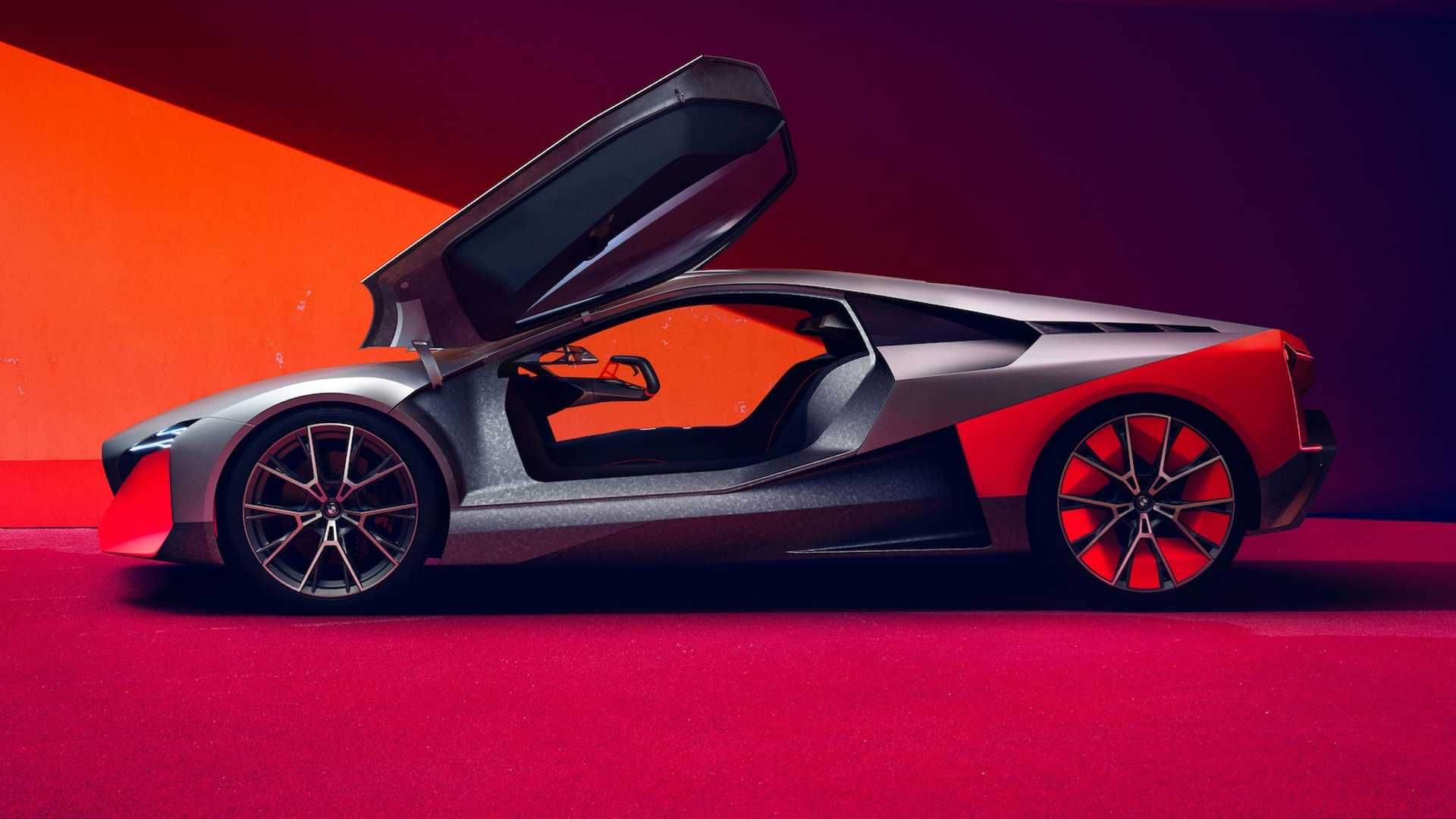 Bmw Vision M Concept Is A Stunning And Futuristic M1 Bmw M1 Bmw Future Car