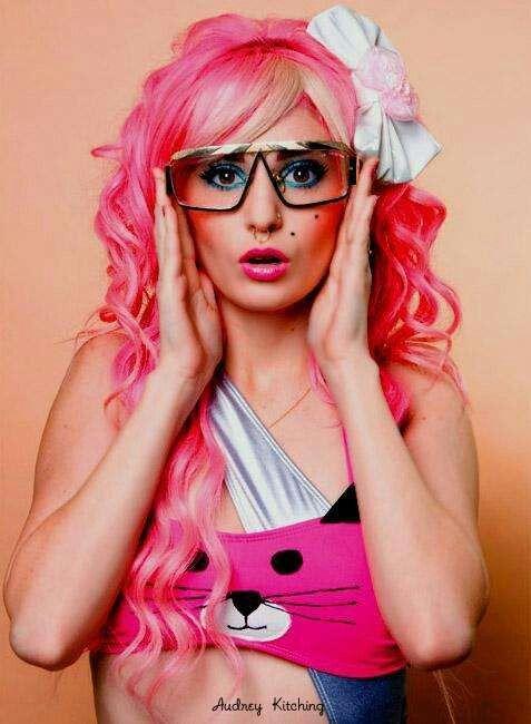 Emo Girl Pink Hair Emo Scene Hair Emo Hair Scene Hair