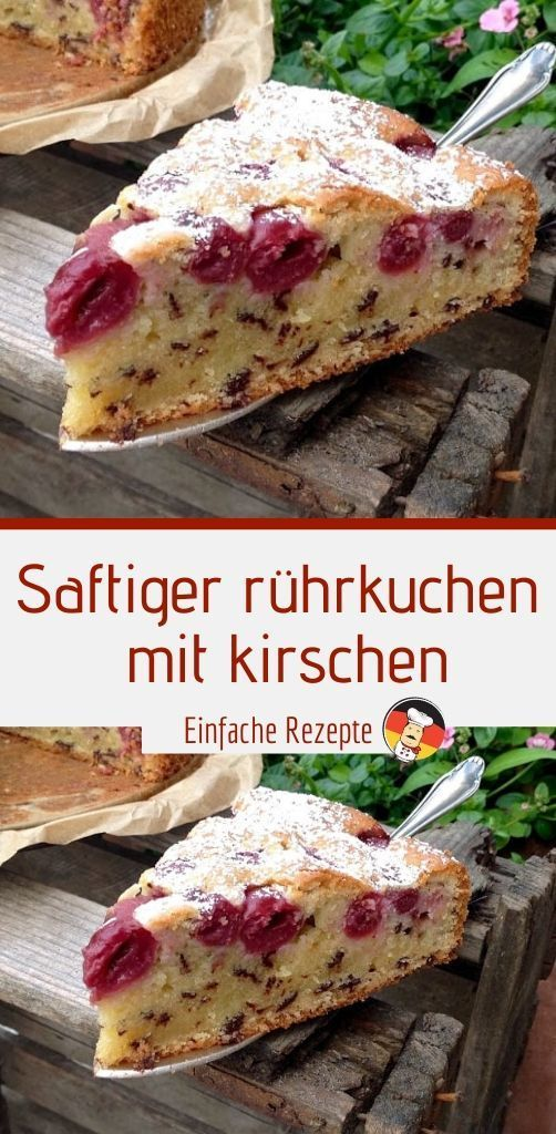 Photo of DELICIOUS sponge cake with cherries | Sprainnews – LECKER Juicy stirrer …