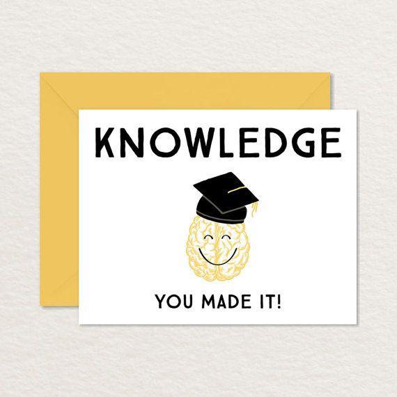 Funny Graduation Card / Printable Graduation Card / Funny