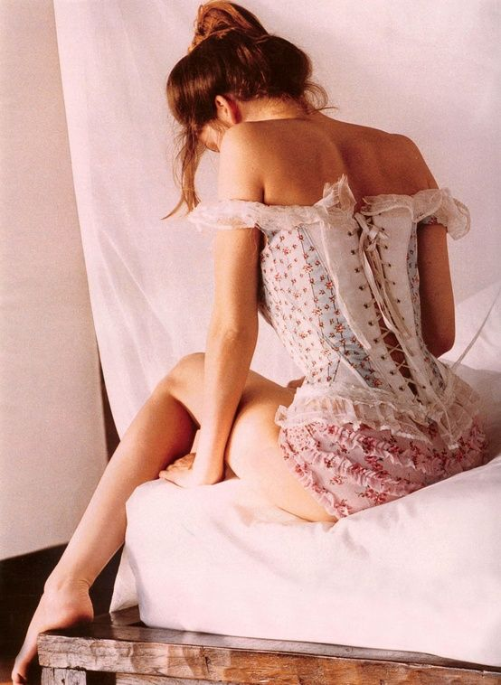 Hot amateur girls in silk and lace