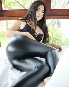 Jav hd shiny leather