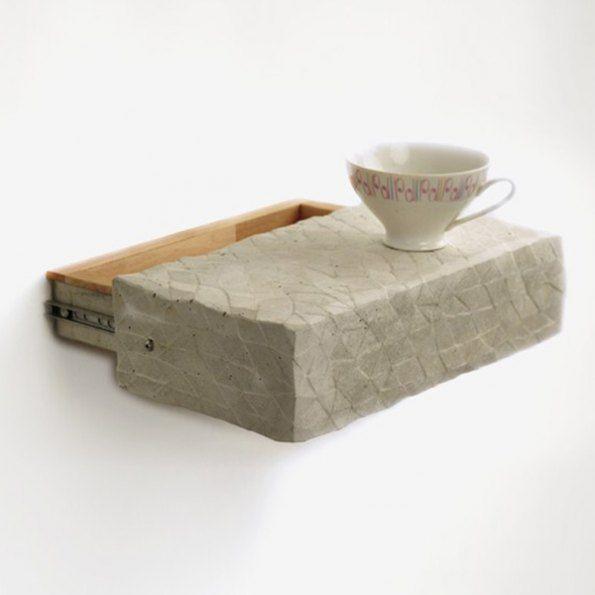 Concrete Shelf by REHFORM I The ICONIST http://www.iconist.de/sesam-regal?wt_mc=P