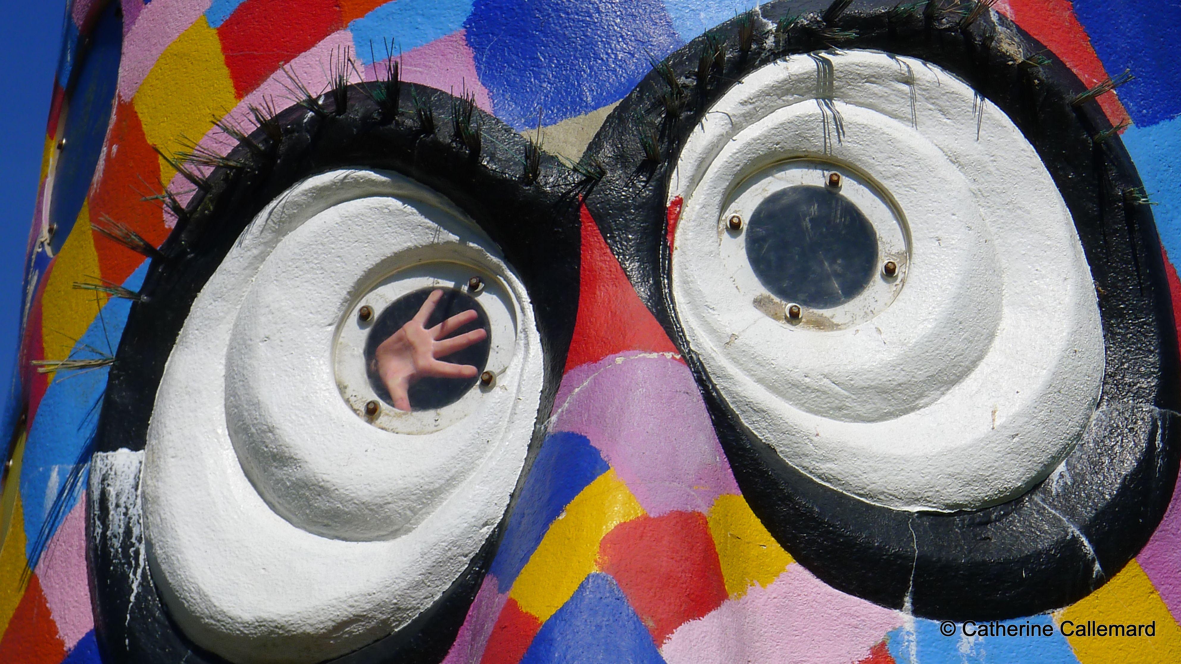 21 Oeil regard structure pour enfant aux jardins de