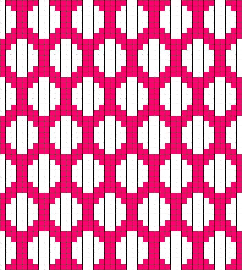 how to read a fair isle pattern