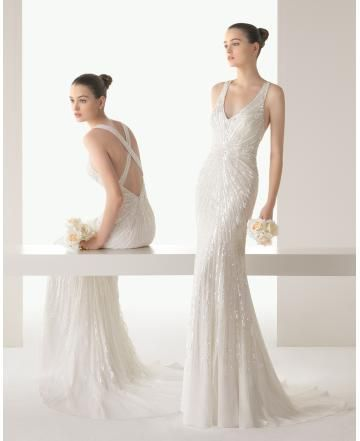 Meerjungfrau Sexy Moderne Brautkleider aus Softnetz mit Paillette