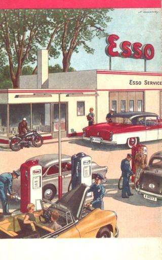 Blechschild Garage Oldtimer Motoren Tankstellen