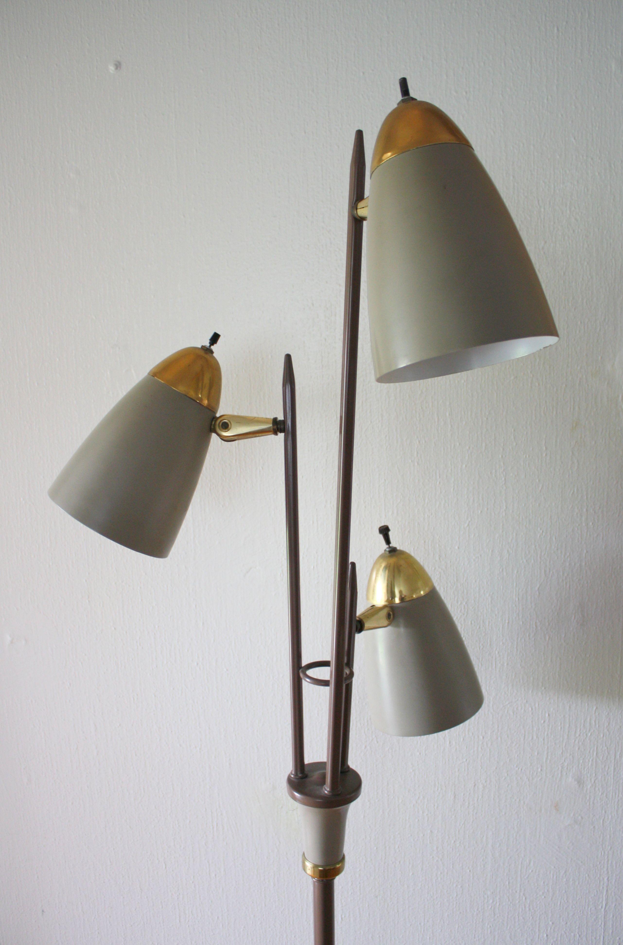 Mid Century Modern Bullet Floor Lamp Floor Lamp Lamp Retro