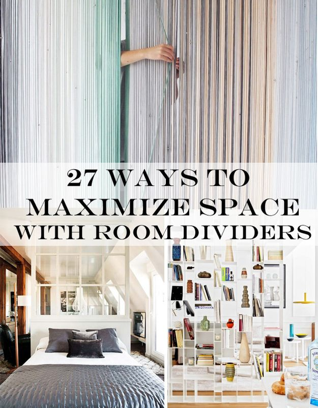 27 ways to maximize space with room dividers | climber plants