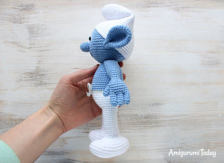 Crochet Smurf amigurumi pattern | Crochet dolls free ...