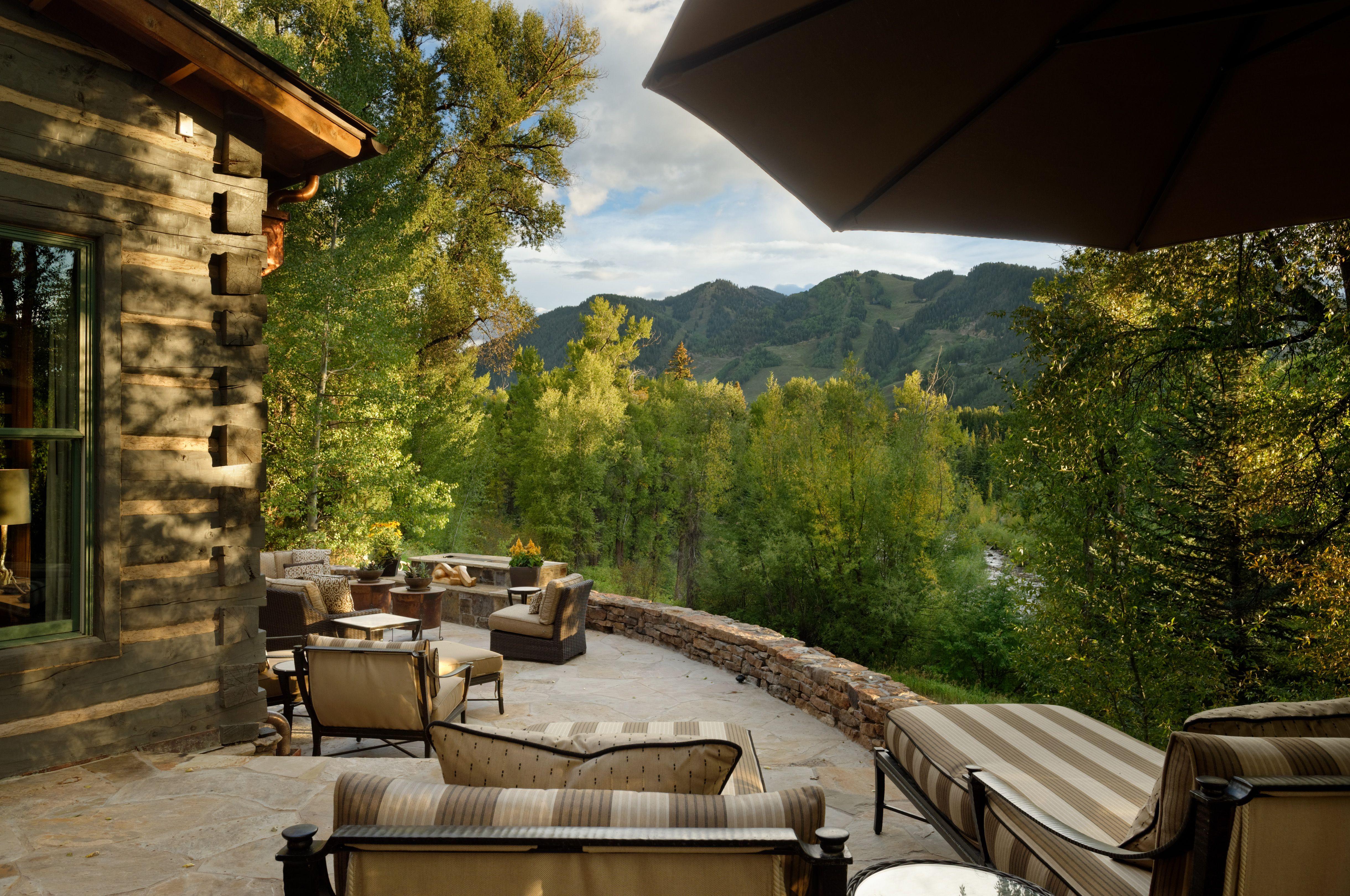 Aspen Log Cabin With a view Aspen CO
