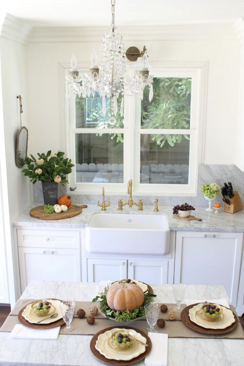 bHome Fall Tour – Kitchen Reveal & Fall Decor