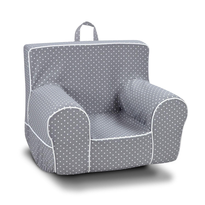 Surprising Classic Gray Polka Dot Grab N Go Foam Rocker Chair In 2019 Uwap Interior Chair Design Uwaporg