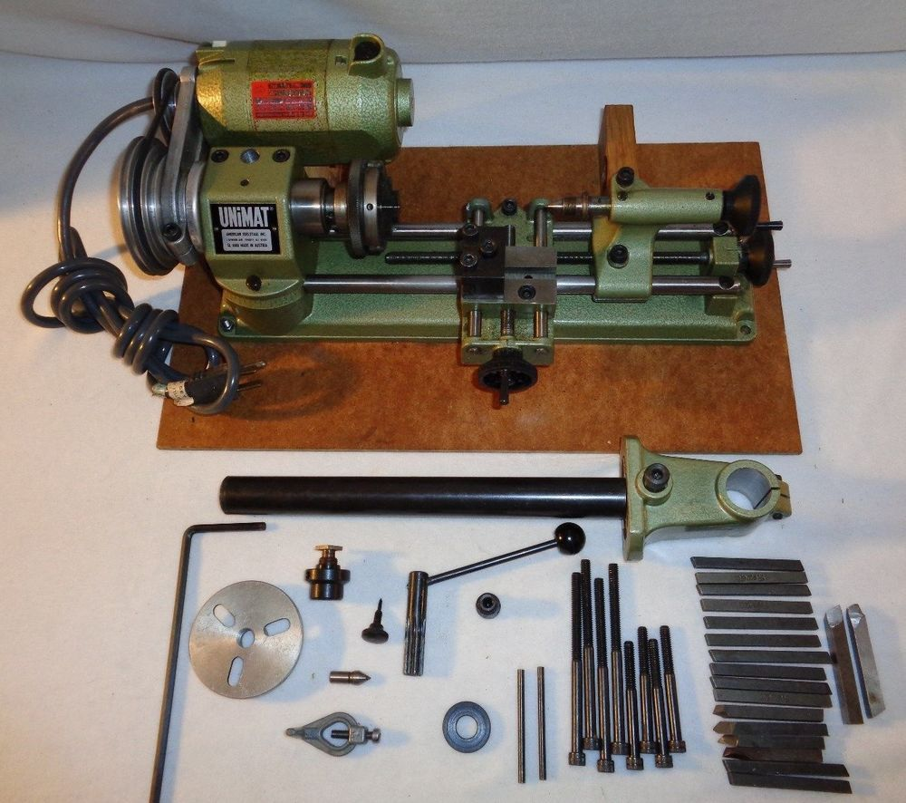 Details About UNIMAT SL-1000 MINI LATHE ORIGINAL MADE IN