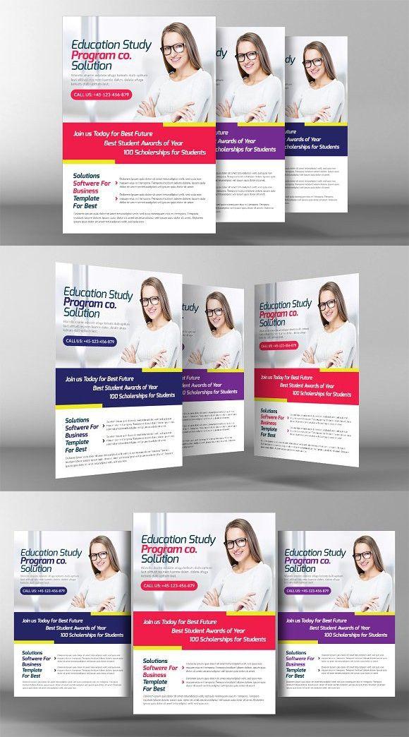 university education flyer
