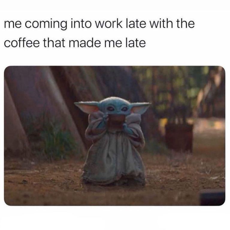 18 Baby Yoda Memes To Make Your Day More Adorable Yoda Meme Yoda Funny Funny Babies