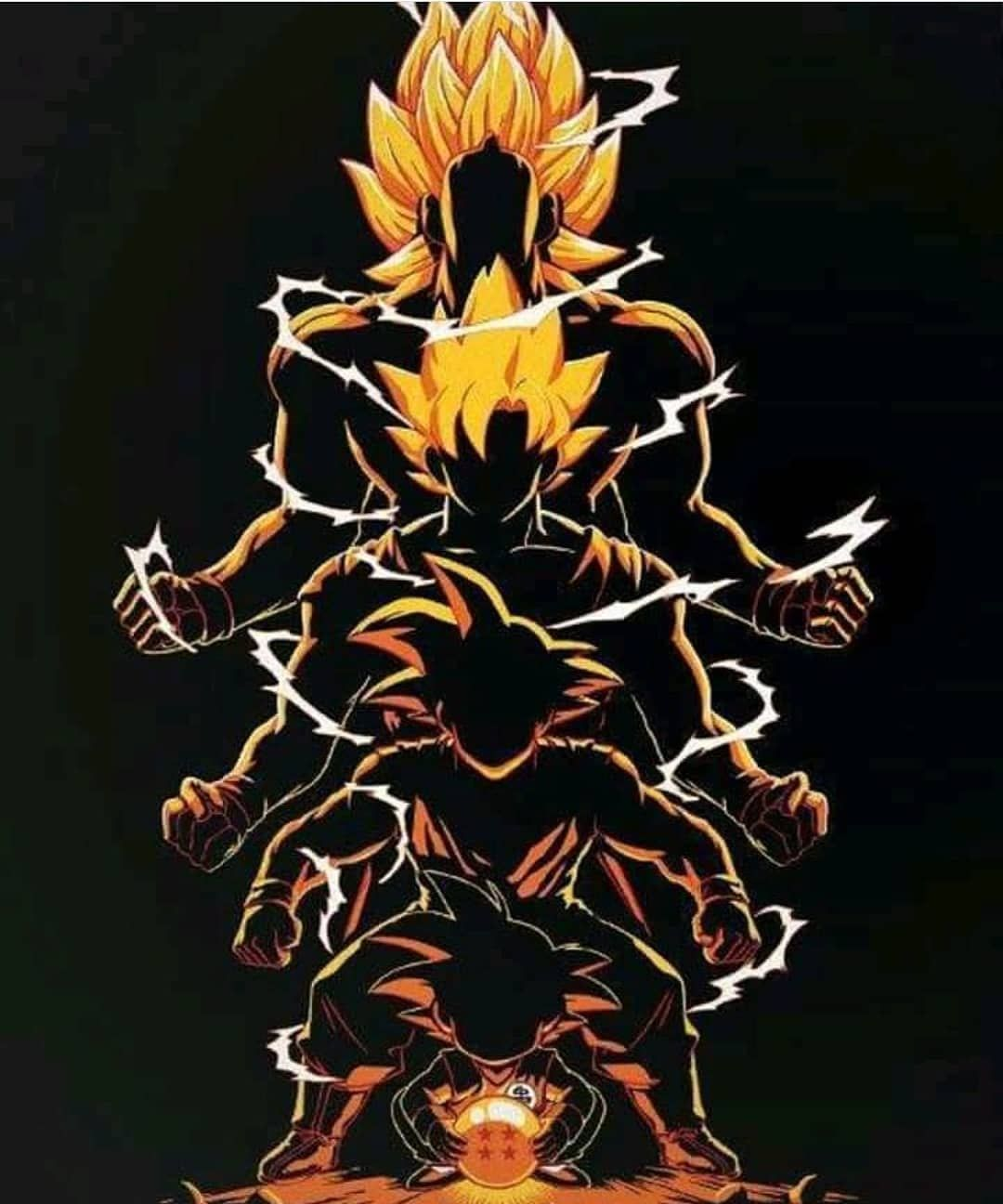 The Evolution Of Goku Follow Officiall Gogeta For More Tag Friends Don T Forget To Like An Anime Dragon Ball Super Anime Dragon Ball Dragon Ball Artwork