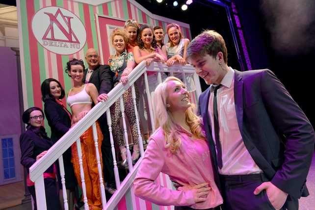 prada shoes legally blonde cast musical
