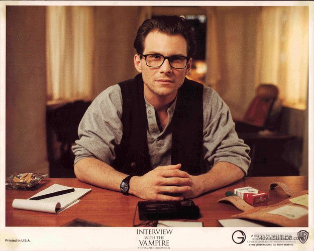 Interview With The Vampire lobby card with Christian Slater