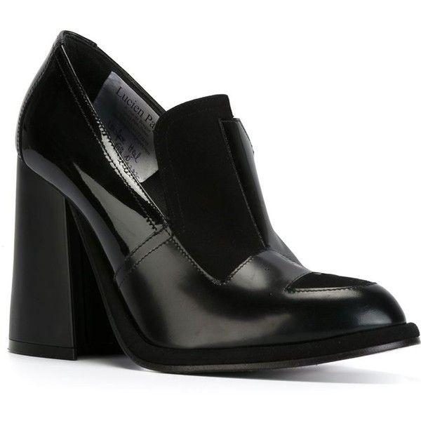JW Anderson Black Patent Flare Heel Boots ujdYaFs7Q