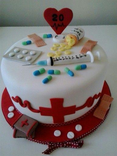 Pharmacy Cake Medical Cake Pharmacy Cake Doctor Birthday Cake