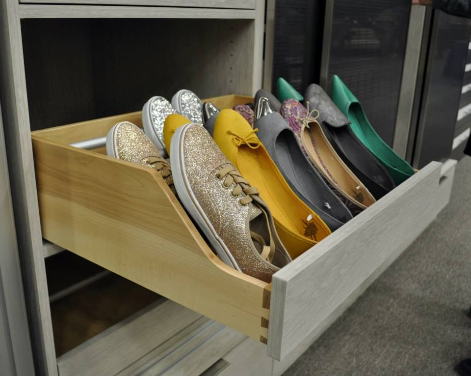 Pull Out Shoe Drawer California Closets