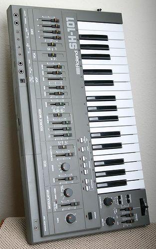 Roland SH-101 | music | Music, Best piano keyboard, Instruments