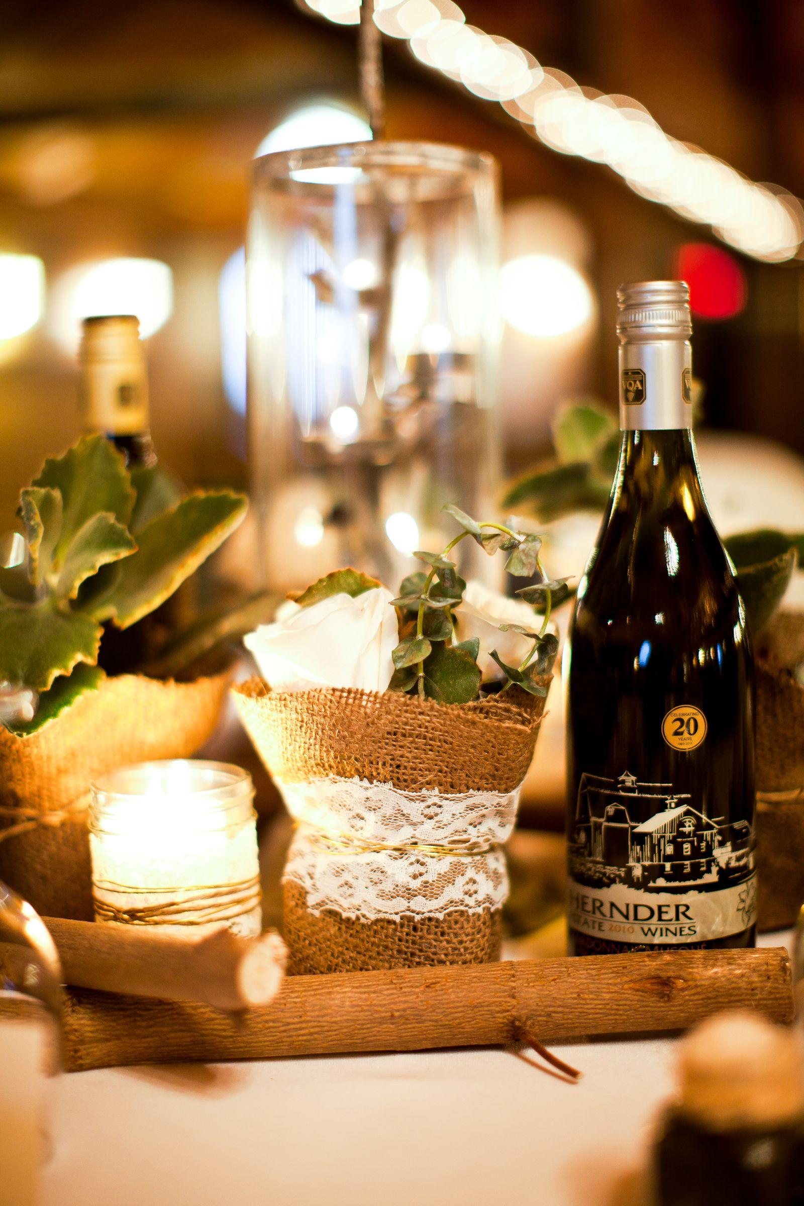 Canadian Vintage Winery Wedding