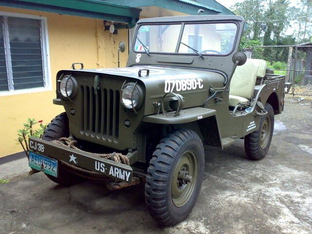 1958 Cj3b Willys Jeep 4x4 For Sale From Batangas Lipa City