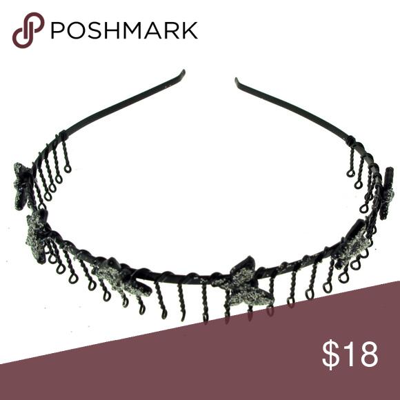 Bundle of 12 Wire headband, hbk2604d, black wire
