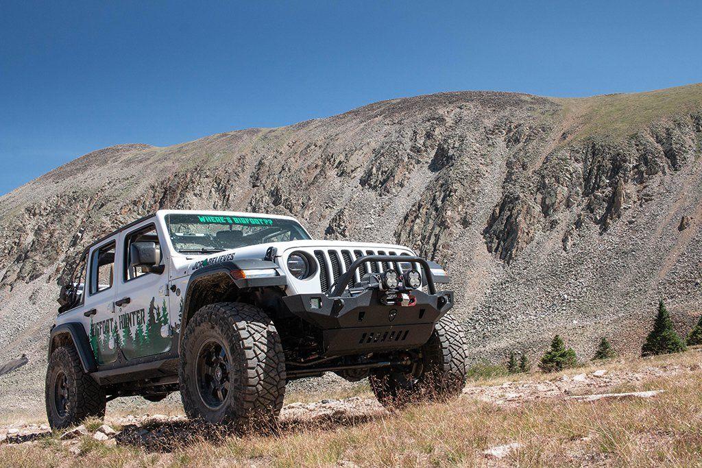 Jk Jl Jt Front Bumper Crusader 2007 Jeep Wrangler And