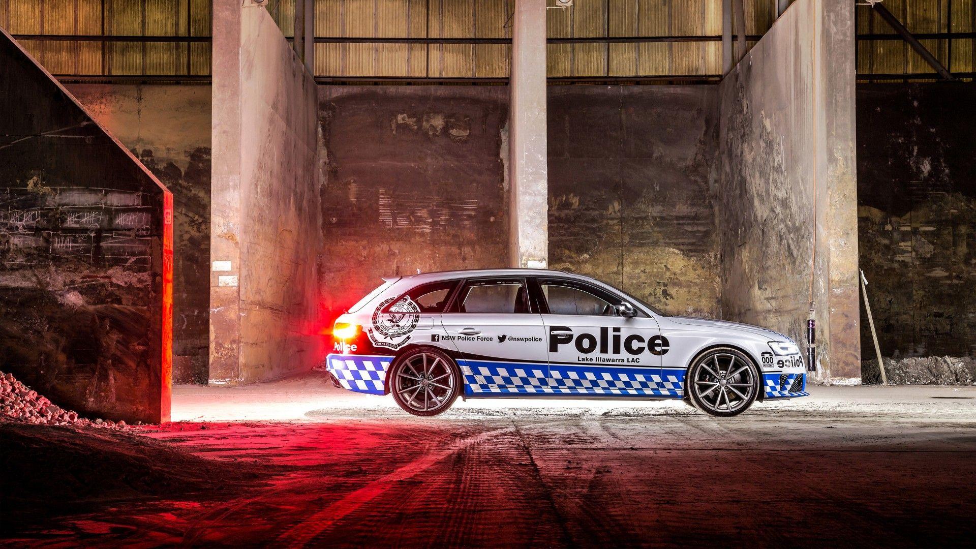 2015 Audi Rs4 Avant Police 2 Wallpaper Hd Car Wallpapers Car