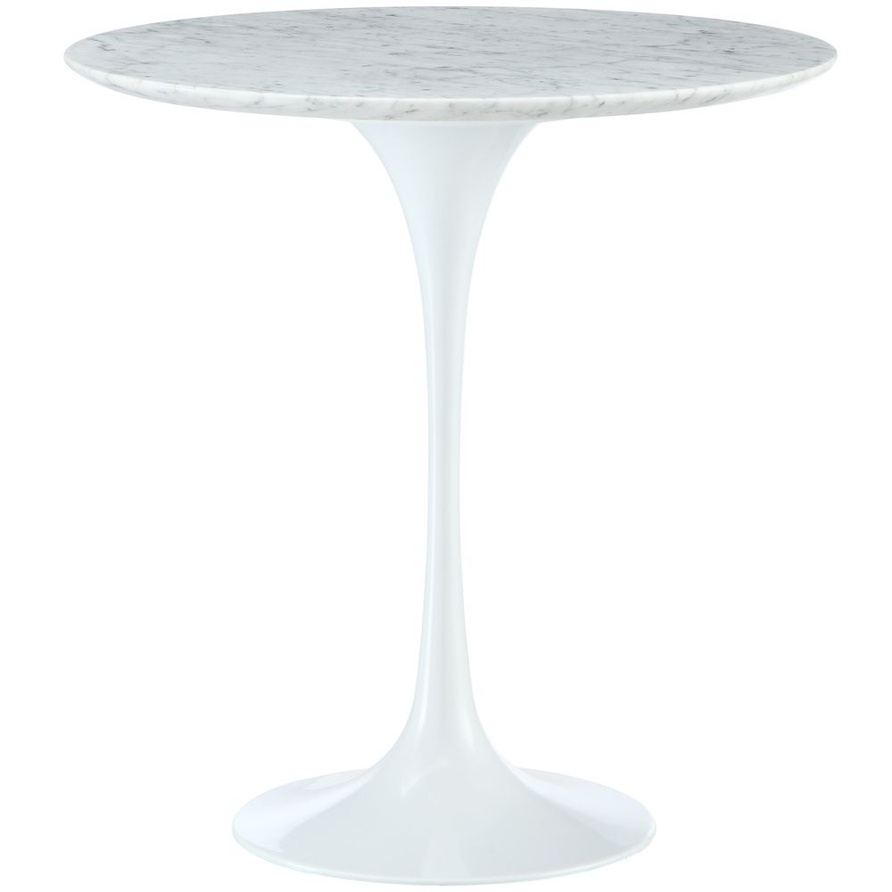 Eero Saarinen Tulip Style Marble Side Table - Overstock™ Shopping - Great Deals on Coffee, Sofa & End Tables