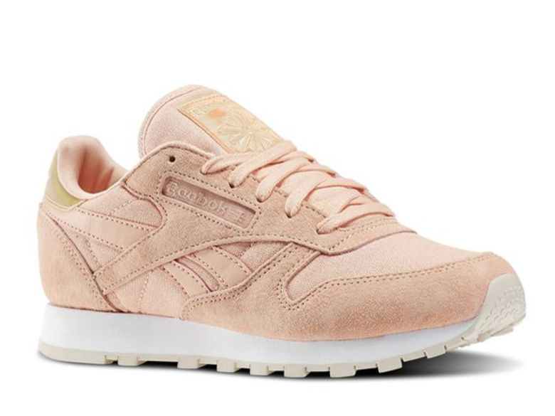 f0111ebfd2cbb ... pour le printemps Femmes Chaussures Reebok Classic Cuir Pearlized Rose  Gold Blanc Cliquez pour zoomer Chaussures Reebok Classic Leather Metallic  ...
