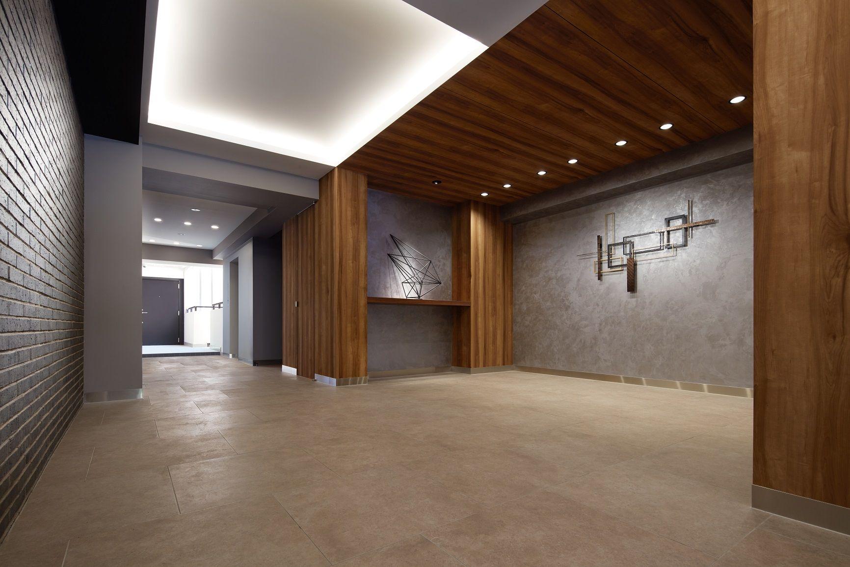 プライムフィット中目黒 公式 中目黒の1棟丸ごとリノベーションマンション エントランスホール ロビーのデザイン マンション