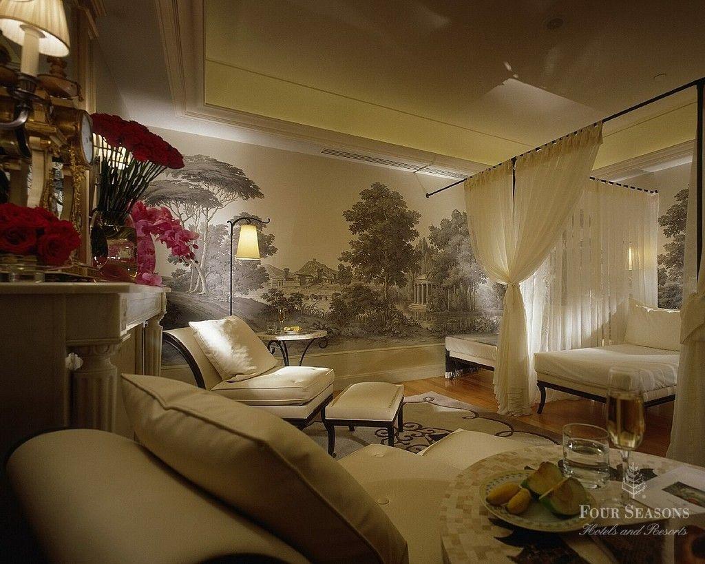 Royal Interior Design | Detail Room Design Of Royal Suite Four Seasons  George V Hotel