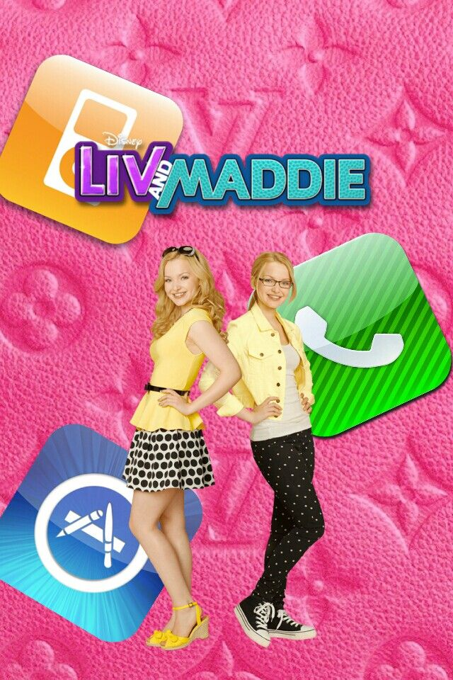 Liv And Maddie Disney Channel Iphone Wallpaper