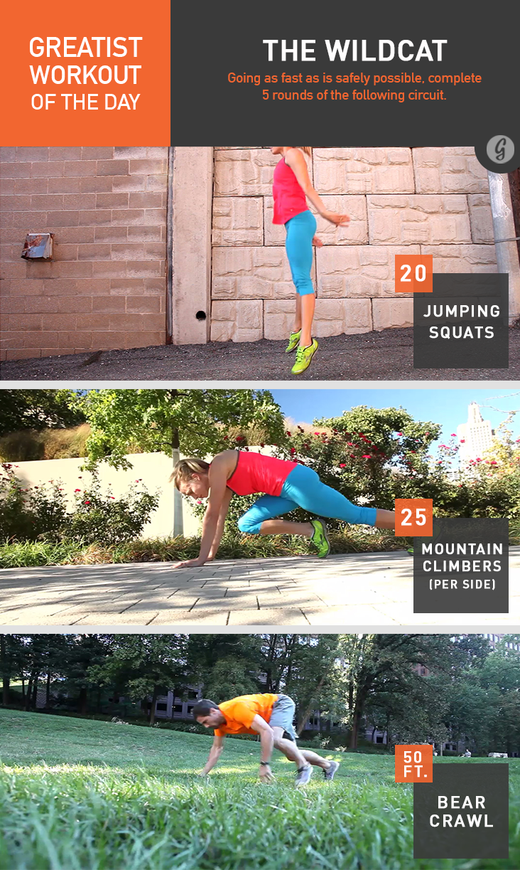 Greatist Workout of the Day: Monday, June 23rd recommend