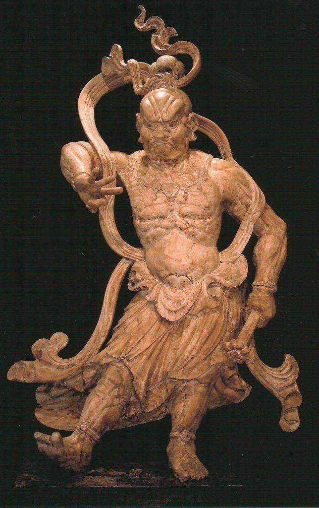Pair of Temple Figures, Nio, Japan, Late Muromachi to Early Edo Period 2