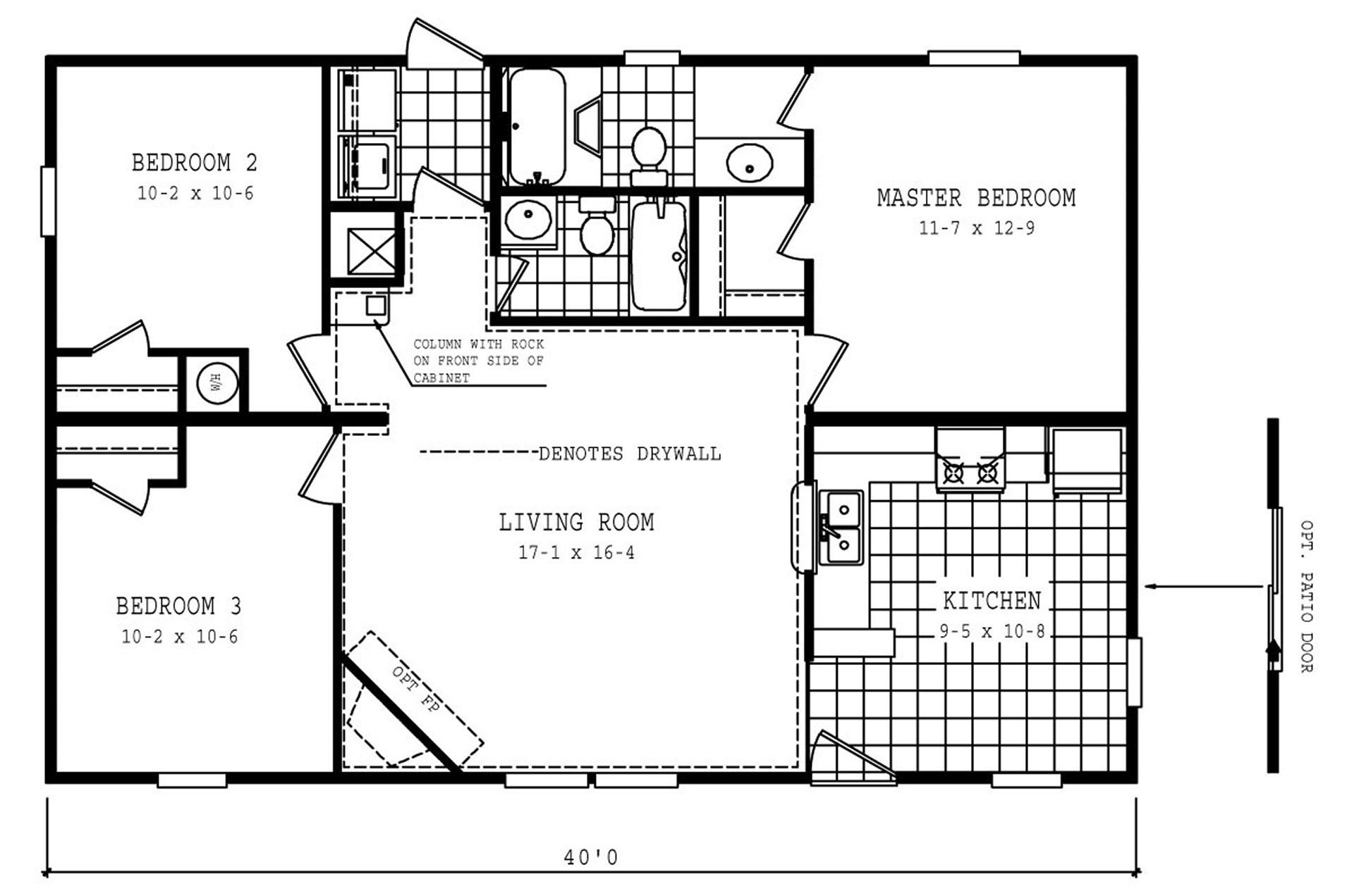 14x40 House Floor Plans Floor Plans Cabin Plans Cabin Floor Plans