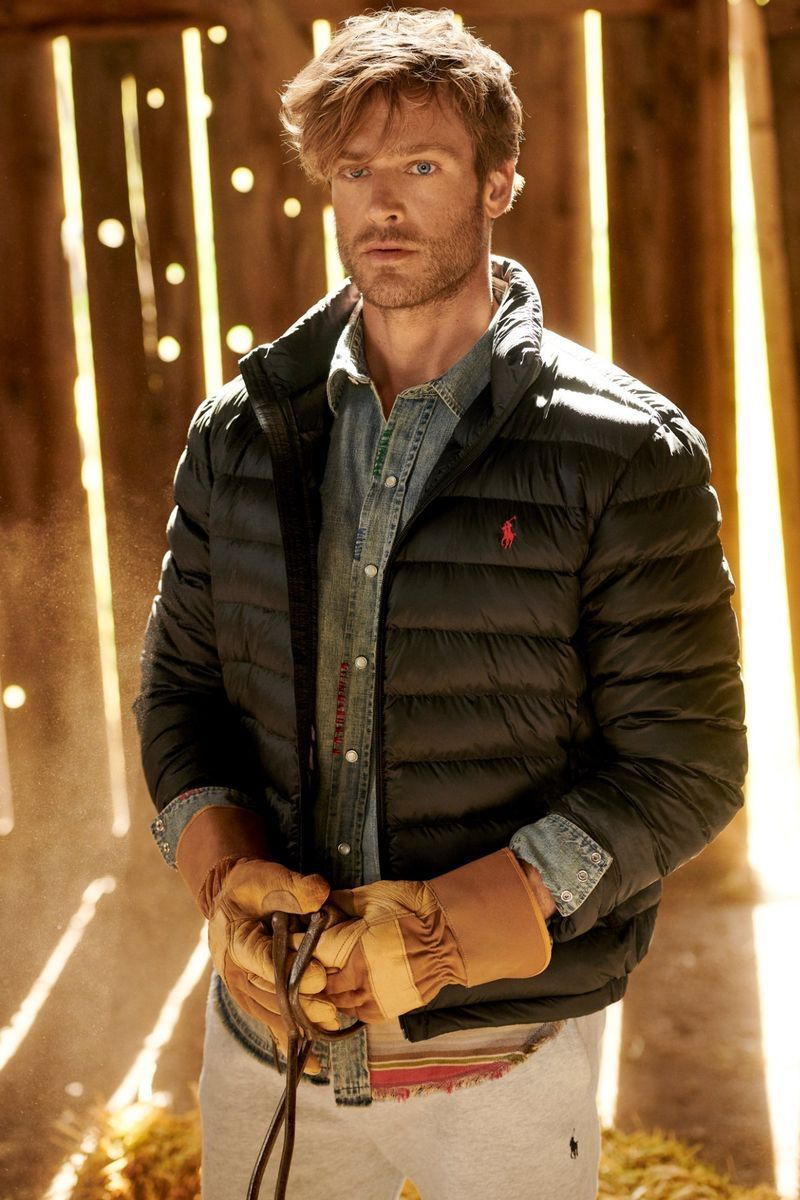 Jason Morgan Dons All American Style for POLO Ralph Lauren Fall '19 Campaign – Menbeauty