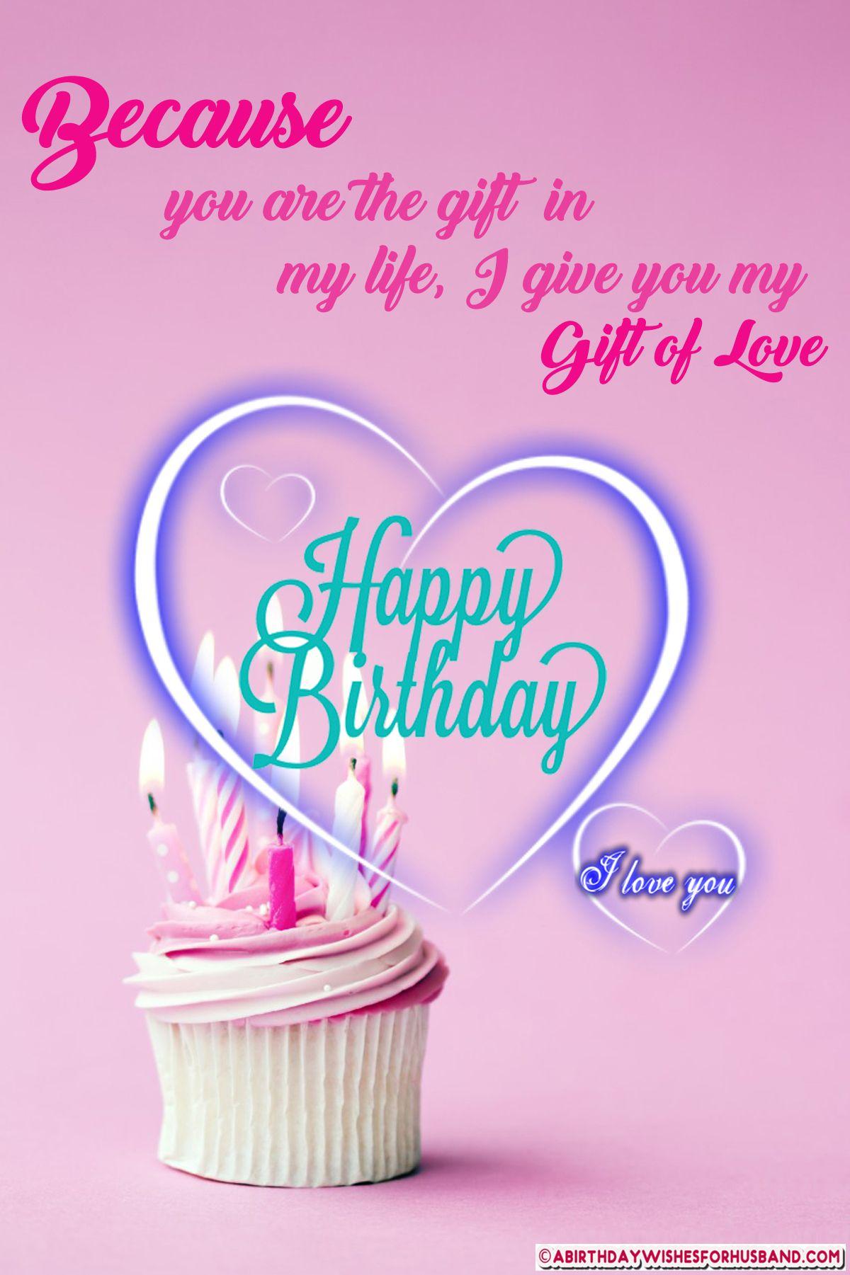 Happy Birthday Wishes To Husband Happy birthday wishes