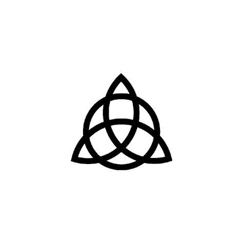 triquetra liked on polyvore featuring charmed and misc tattoos pinterest. Black Bedroom Furniture Sets. Home Design Ideas