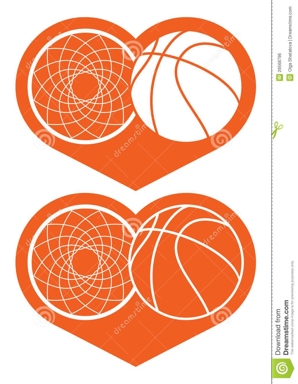 Basketball hoop and ball in heart royalty free stock image image shopping for basketball gear and equipment get ready for your next game with our wide selection of basketball gear including basketball shoesclothing and biocorpaavc Choice Image