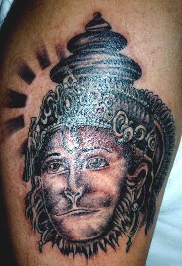 lord hanuman tattoo artwork rip tattoos pinterest hanuman tattoo tattoo and rip tattoo. Black Bedroom Furniture Sets. Home Design Ideas