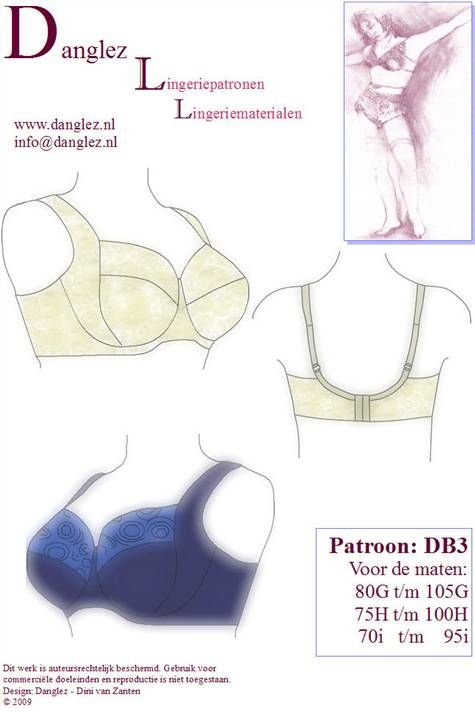 Satin Bird Designs: Bra-making Sew-Along - similar in style to the ...