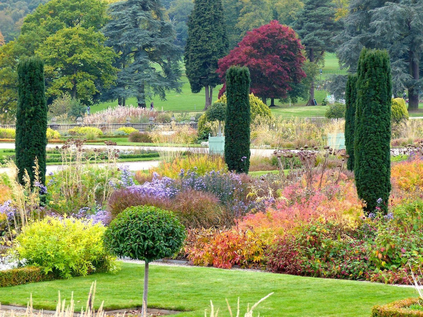 Autumn Colours In Trentham Gardens Stoke On Trent Garden Design Stoke On Trent Plant Design