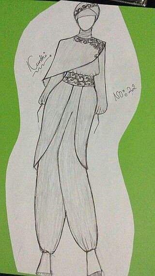 Harem Pants Fashion Design Sketches Fashion Design Drawings Dress Design Drawing