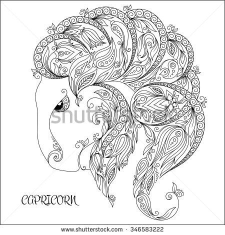 Pin by Lisa Gauer on coloring pages   Pinterest   Zodiac
