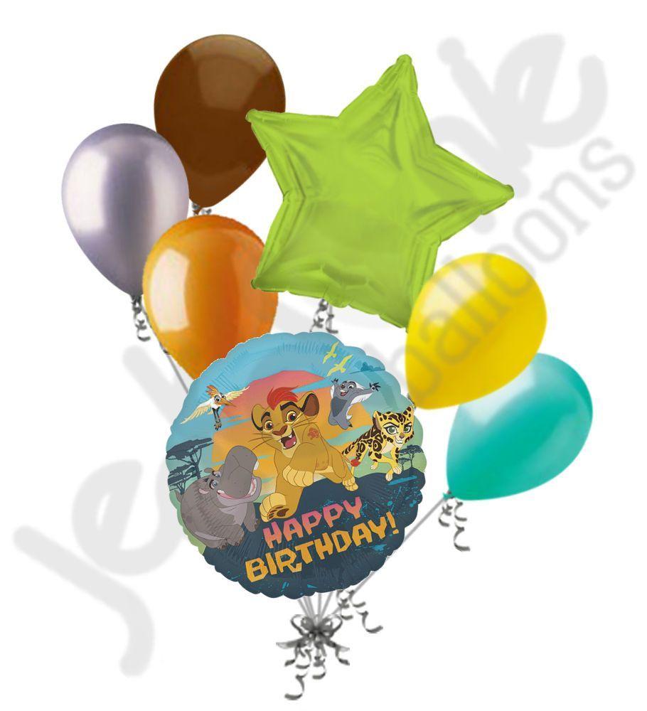 Childrens Disney The Lion Guard Helium Balloon